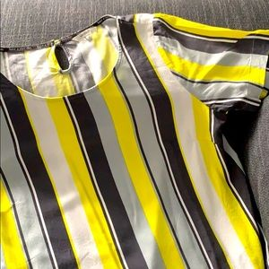 Sandwich linear pattern shirt size 38 / medium